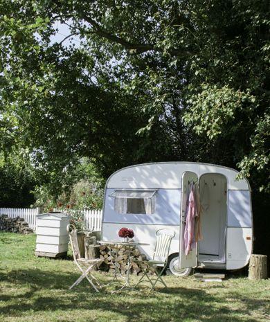 1950's Caravan @ Foster House Garden