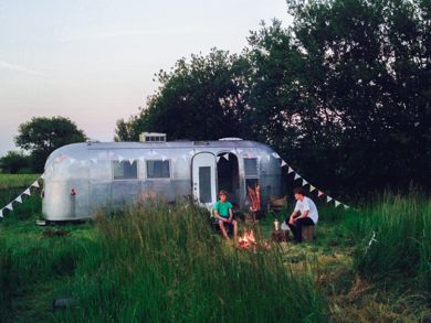 Airstream and Grounds @ Foster House