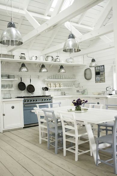 Camber Cabins Kitchen