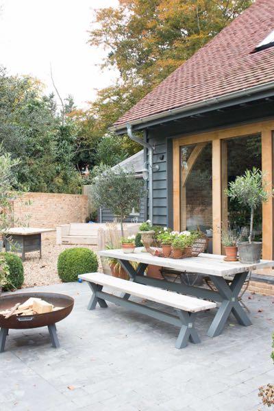 Vintage Barn Garden